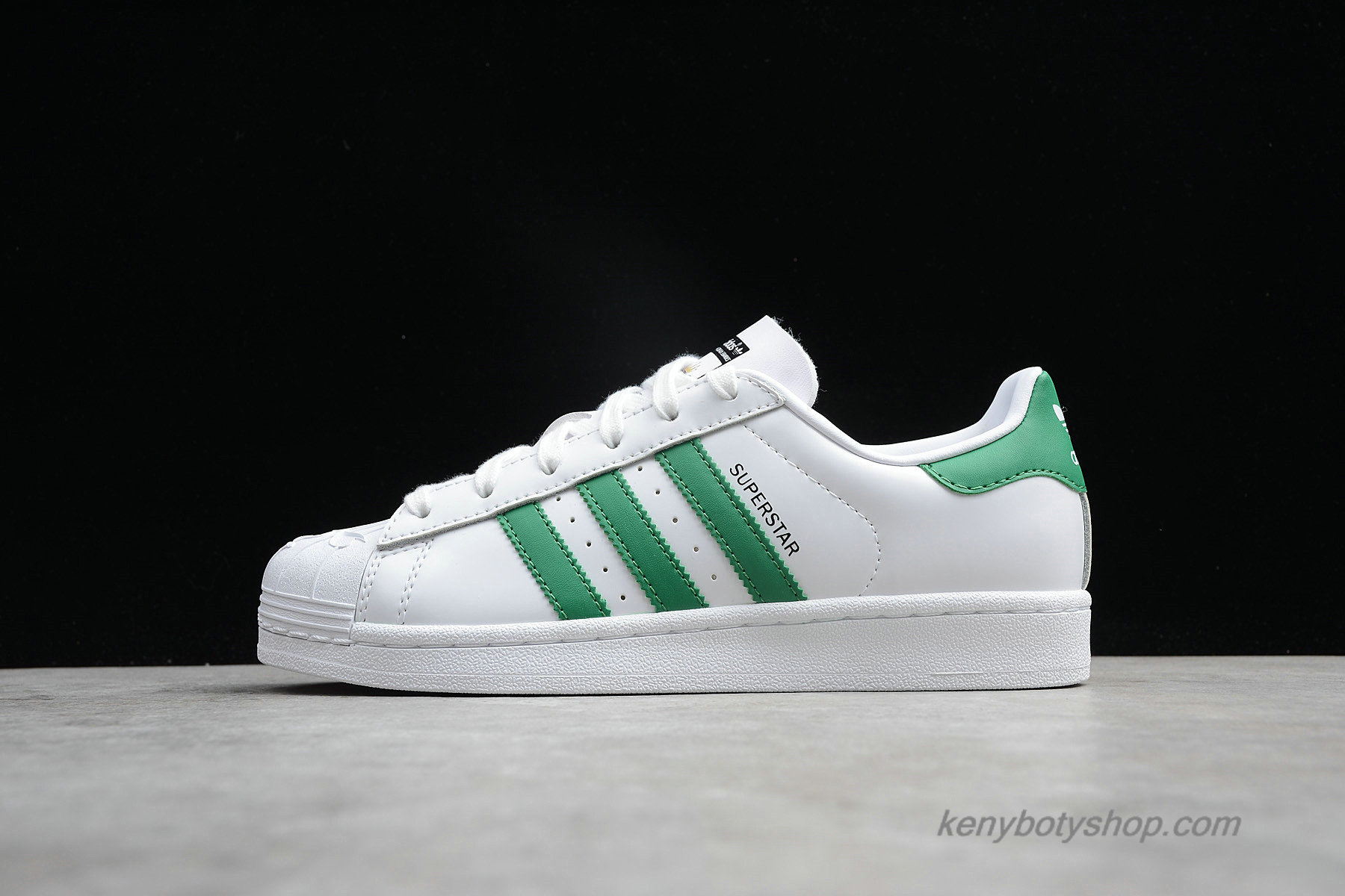 Boty Adidas Originals Superstar Nigo Bearfoot Unisex S83385 (Bílý / Zelená)