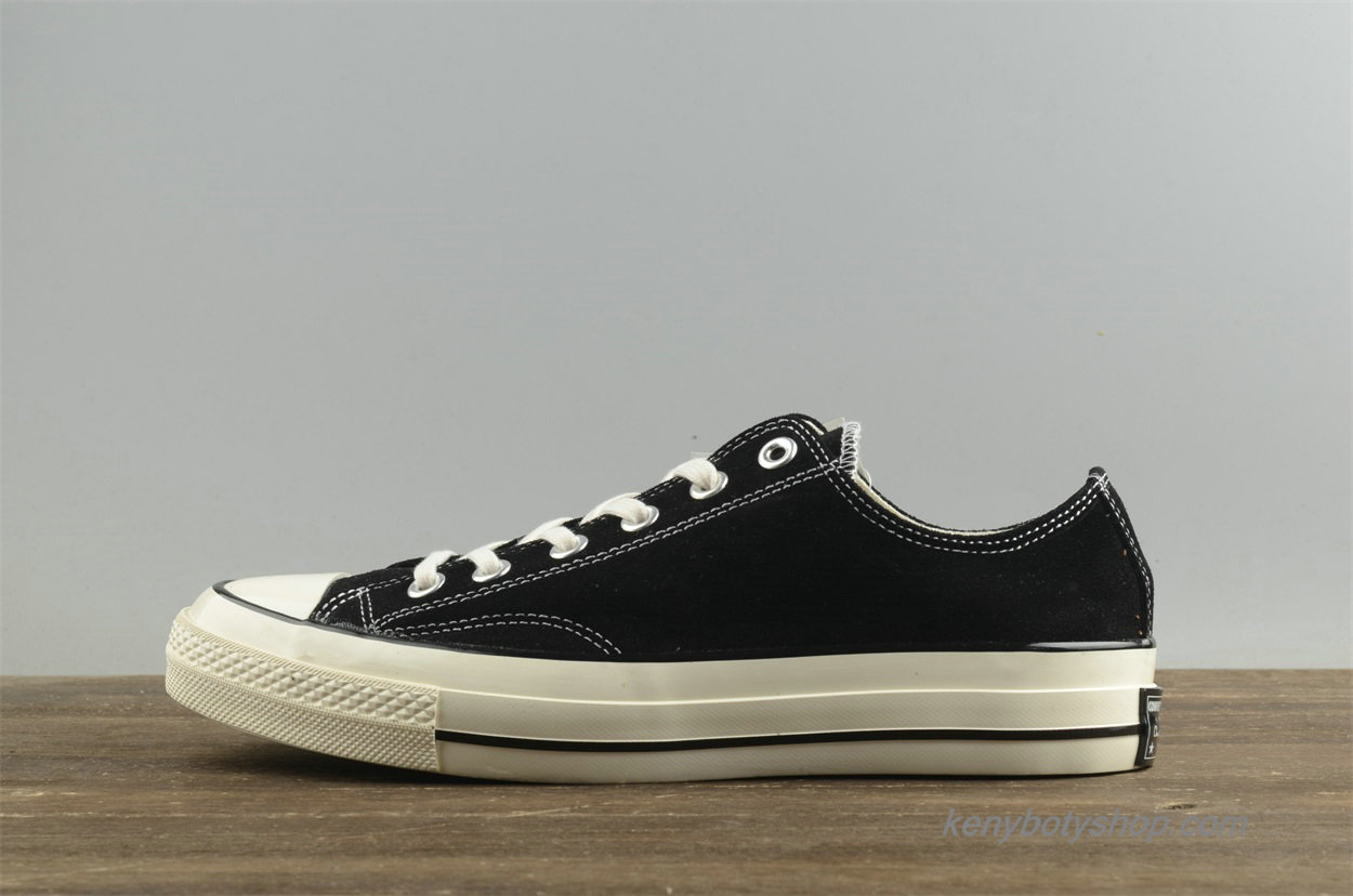 Boty Converse Chuck Taylor All Star 1970s Low Suede Unisex 157452C (Černá)