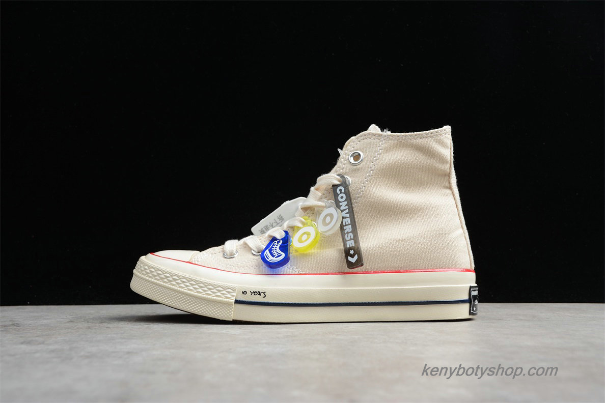 Boty Converse Chuck Taylor All Star 70 HI Unisex 162053C (Off-White)