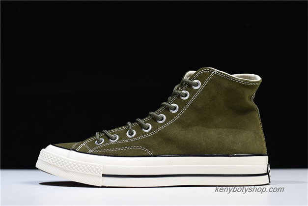 Boty Converse Chuck Taylor All Star 70 Hi Suede Unisex 162371C (Olivový)