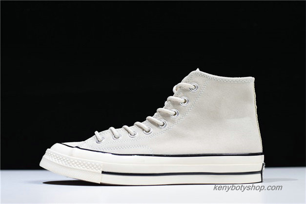 Boty Converse Chuck Taylor All Star 70 Hi Suede Unisex 162978C (Off-White)