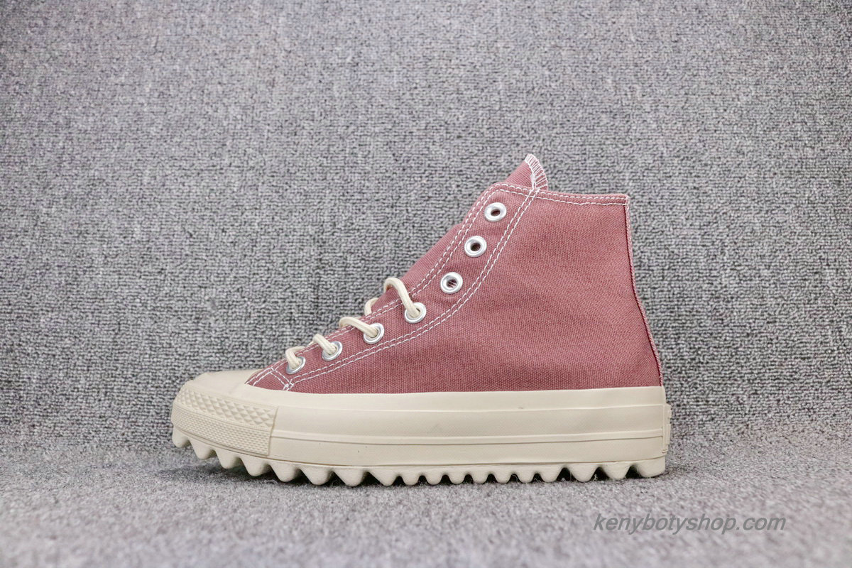 Boty Converse Chuck Taylor All Star Lift Ripple HI Unisex 559859C (Indian Červené)