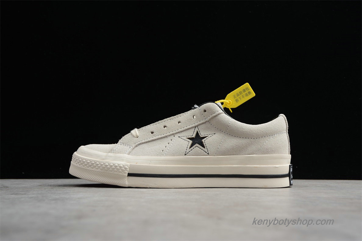 Boty Converse One Star Premium Suede Low Unisex 158368C (Off-White)