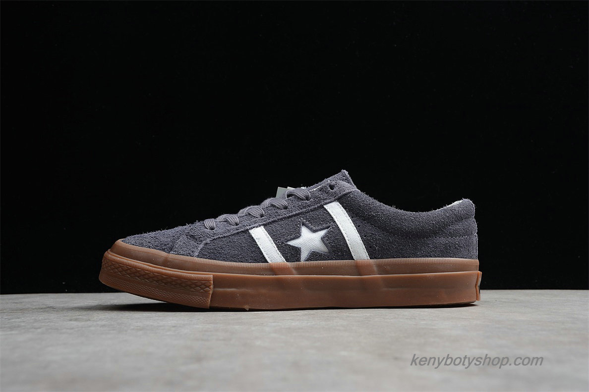 Boty Converse Star And Bars Suede GM Low Unisex 1CL256 (Tmavošedý)