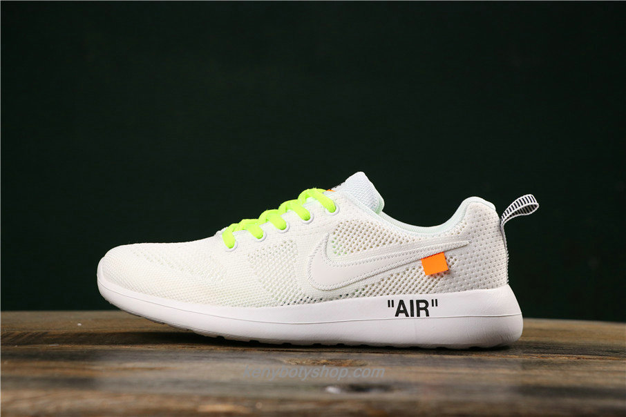 Boty Unisex Off-White x Nike Air Fashion Hollow 789651016 (Bílý / Zelená)